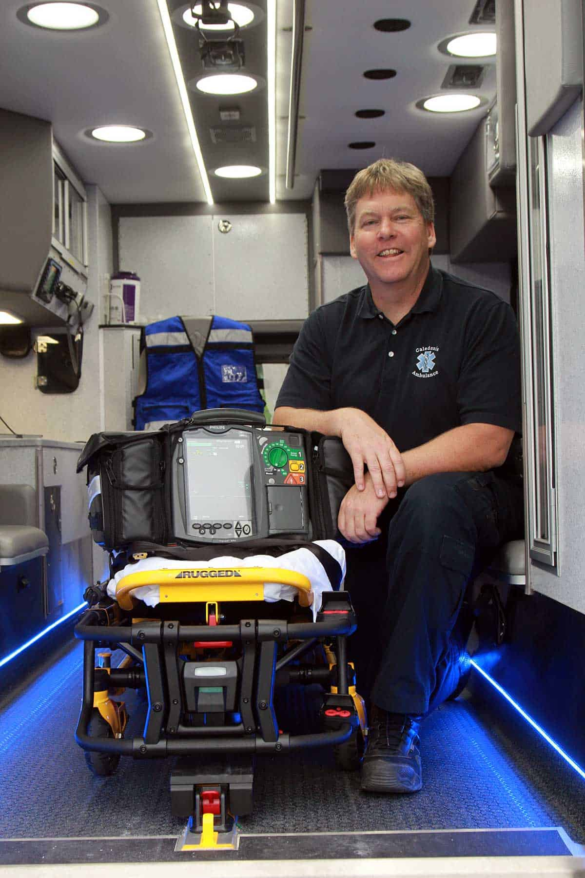 Ambulance Director Mike Tornstrom